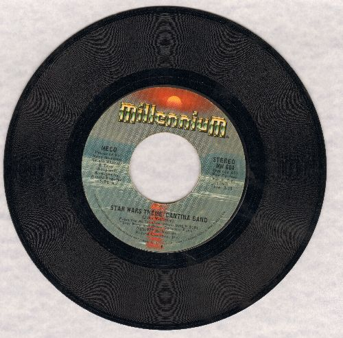 Meco - Star Wars Theme/Funk  - NM9/ - 45 rpm Records