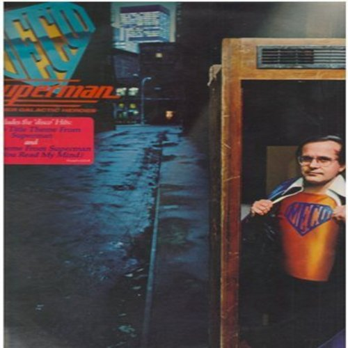 Meco - Superman And Other Glactic Heroes - Includes the 16 minute extended Disco Version of Superman (Vinyl STEREO LP record) - NM9/EX8 - LP Records