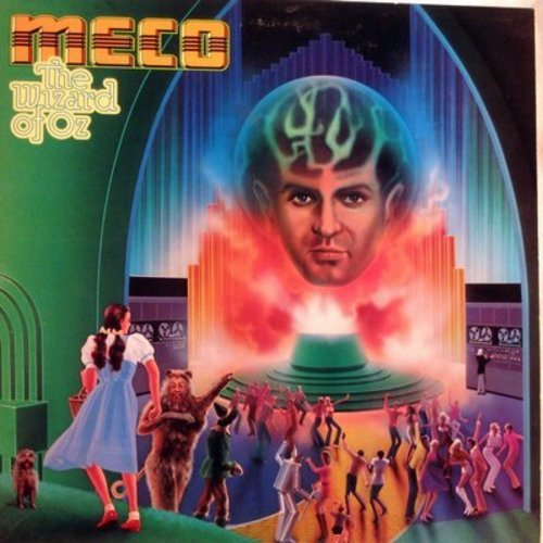 Meco - The Wizard Of Oz: Over The Rainbow, Ding-Dong! The Witch Is Dead, March Of The Winkies, The Spell, If I Were King Of The Forest (Vinyl STEREO LP record) - NM9/EX8 - LP Records