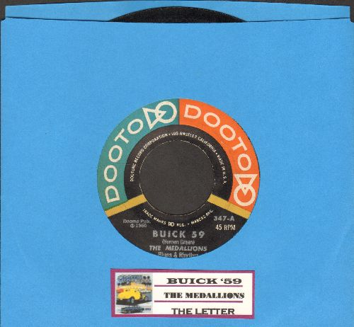 Medallions - Buick '59/The Letter (RARE first pressing with juke box label) - VG7/ - 45 rpm Records