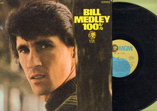 Medley, Bill - Bill Medley 100%: The Impossible Dream, You Don't Have To Say You Love Me, Goin' Out Of My Head (vinyl STEREO LP record) - NM9/EX8 - LP Records