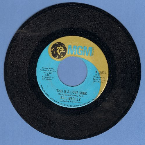 Medley, Bill - This Is A Long Song/Something's So Wrong - EX8/ - 45 rpm Records