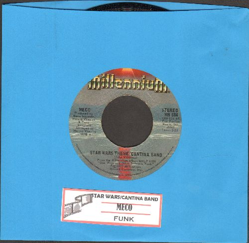 Meco - Star Wars Theme/Funk (with juke box label) - EX8/ - 45 rpm Records