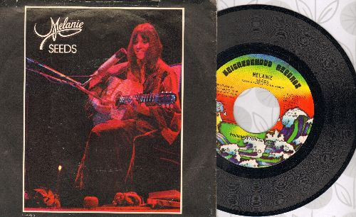 Melanie - Seeds/Some Say (I Got The Devil) (with picture sleeve) - NM9/ - 45 rpm Records