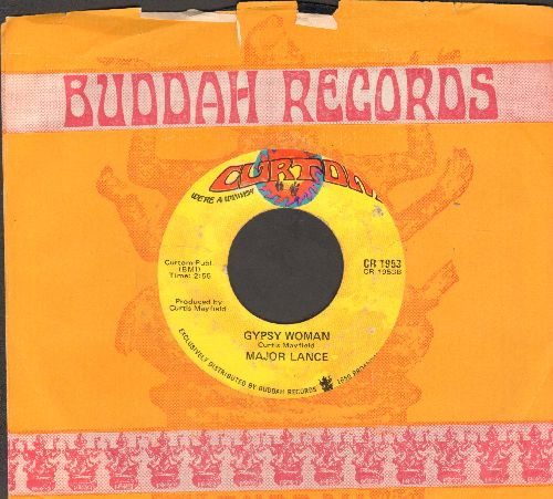 Lance, Major - Stay Away From Me (I Love You Too Much)/Gypsy Woman (with company sleeve) - EX8/ - 45 rpm Records