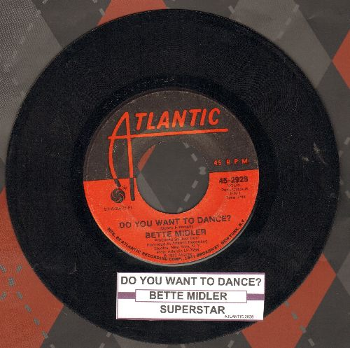 Midler, Bette - Do You Want To Dance?/Superstar - VG7/ - 45 rpm Records