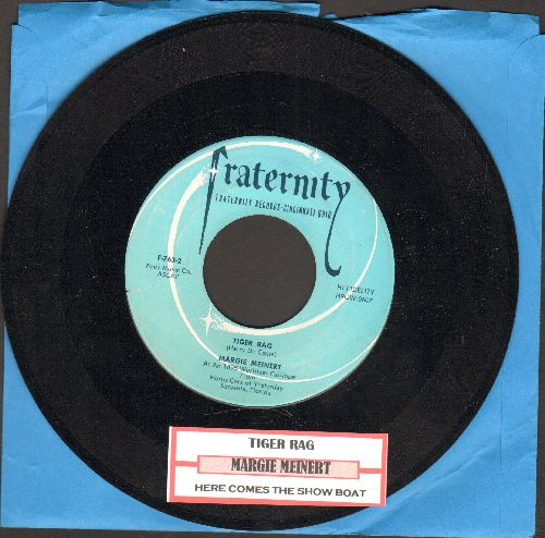 Meinert, Margie - Tiger Rag/Here Comes The Show Boat (with juke box label) - NM9/ - 45 rpm Records