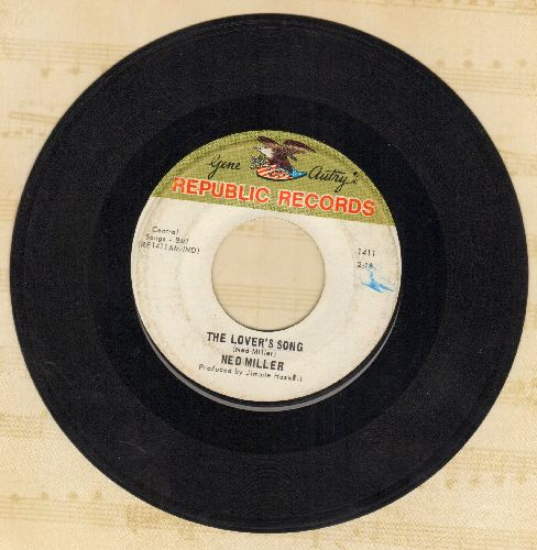 Miller, Ned - The Lover's Song/Cold Grey Bars - EX8/ - 45 rpm Records