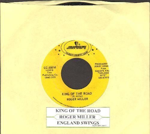 Miller, Roger - King Of The Road/England Swings (double-hit re-issue with juke box label) - NM9/ - 45 rpm Records