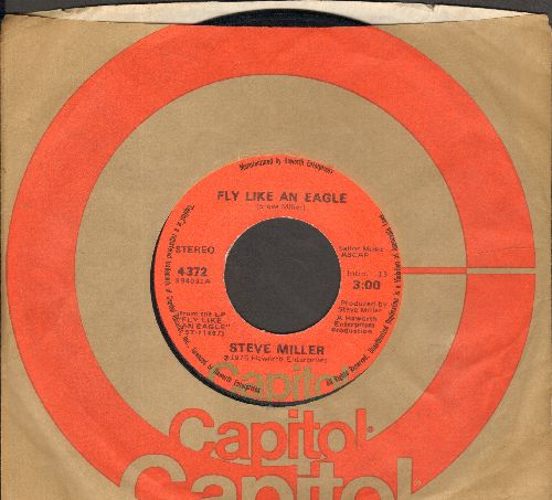 Miller, Steve - Fly Like An Eagle/Lovin' Cup (with Capitol company sleeve) - VG7/ - 45 rpm Records