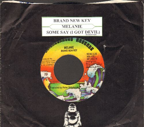 Melanie - Brand New Key/Some Say (I Got Devil)(with juke box label and Buddah company sleeve)) - EX8/ - 45 rpm Records