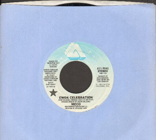 Statues - Blue Velvet/Keep The Hall Light Burning (with vintage Liberty company sleeve) - EX8/ - 45 rpm Records