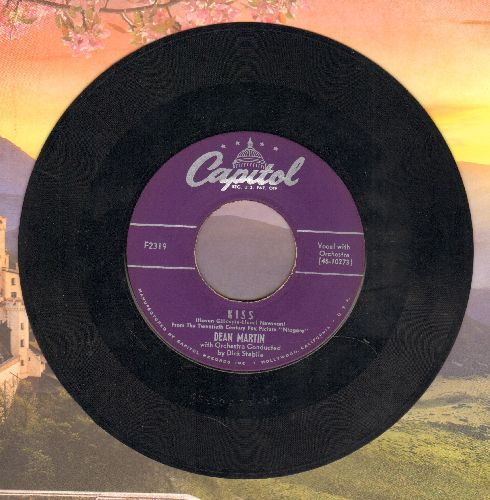Martin, Dean - Kiss (from film -Niagara-)/What Could Be More Beautiful - EX8/ - 45 rpm Records