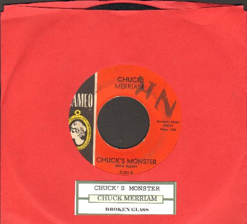 Merriam, Chuck - Chuck's Monster/Broken Glass (with juke box label) - VG7/ - 45 rpm Records