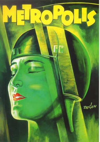 Metropolis - Metropolis (1926) - Classic Movie Poster. 12 X 16 inch full-color reproduction on heavy card board, suitable for framing!  - M10/ - Poster