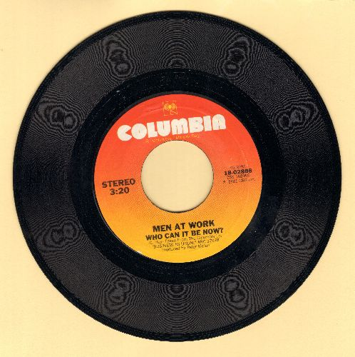 Men At Work - Who Can It Be Now/Anyone For Tennis  - EX8/ - 45 rpm Records