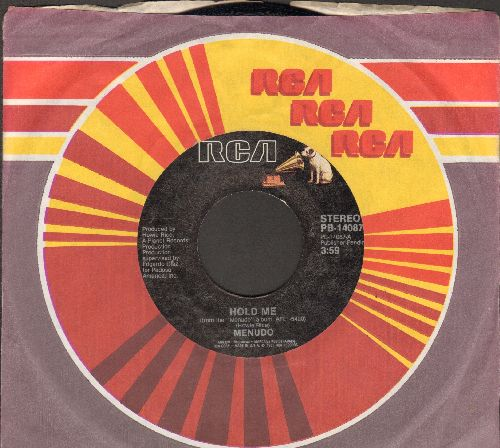 Menudo - Hold Me/When I Dance With You (with RCA company sleeve) - NM9/ - 45 rpm Records