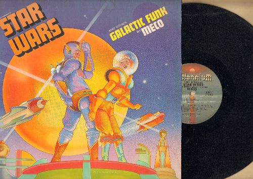 Meco - Star Wars and other Galectic Funk: Cantina Band, Imperial Attack, Princess Leia's Theme (vinyl STEREO LP record) - EX8/NM9 - LP Records