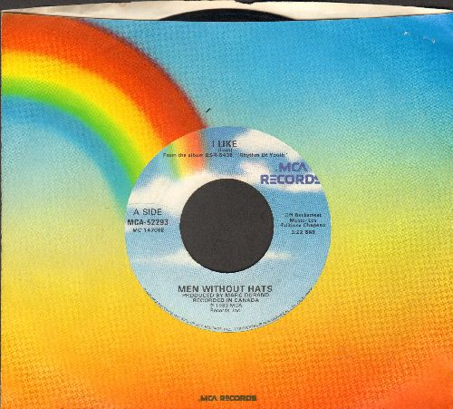 Men Without Hats - I Like/Things In My Life (with MCA company sleeve) - EX8/ - 45 rpm Records