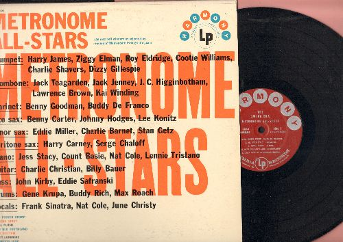 Metronome All-Stars - The Swing Era: King Porter Stomp, All Star Strut, I Got Rhythm, Sweet Lorraine, Nat Meets June (vocal by June Christy) (vinyl MONO LP record, 1957 pressing) - NM9/EX8 - LP Records