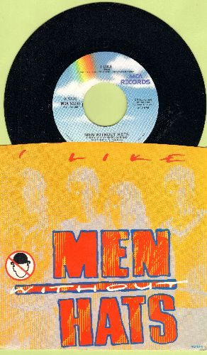 Men Without Hats - I Like/Things In My Life (with picture sleeve) - EX8/EX8 - 45 rpm Records