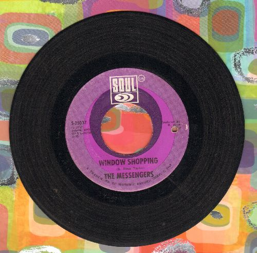 Messengers - Window Shopping/California Soul (bb) - VG7/ - 45 rpm Records