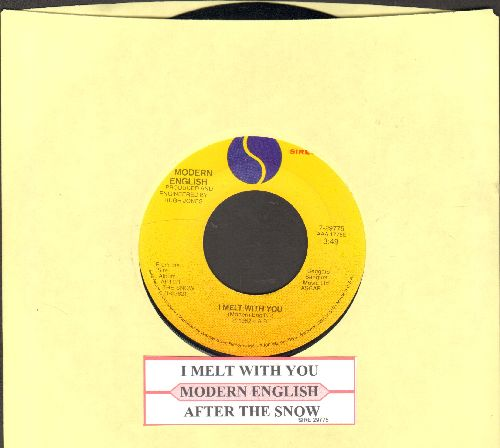 Modern English - I Melt With You/After The Show (with juke box label) - EX8/ - 45 rpm Records