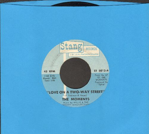 Moments - Love On A Two-Way Street/I Won't Do Anything - VG7/ - 45 rpm Records