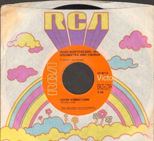 Montenegro, Hugo & His Orchestra & Chorus - Good Vibrations/Tony's Theme (with RCA company sleeve) - EX8/ - 45 rpm Records