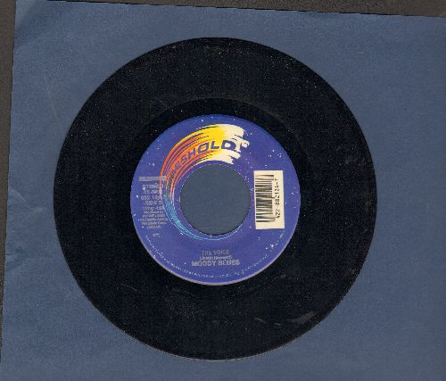 Moody Blues - The Voice/Gemini Dream (authentic-looking double-hit re-issue) - NM9/ - 45 rpm Records