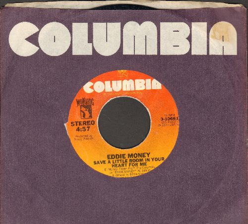 Money, Eddie - Save A Little Roon In Your Heart For Me/Baby Hold On (with Columbia company sleeve) - NM9/ - 45 rpm Records