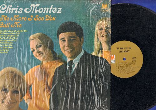 Montez, Chris - The More I See You: Call Me, There Will Never Be Another You, Fly Me To The Moon, The Very Thougght Of You (Vinyl MONO LP record, shrink-wrap) - NM9/EX8 - LP Records