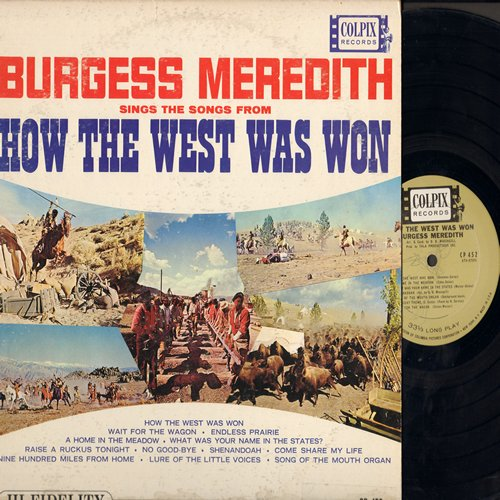 Merdith, Burgess - Songs From