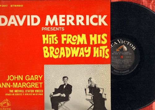 Gary, John & Ann-Margret - David Merrick Presents Hits From His Broadway Hits: Make Someone Happy, Small World, As Long As He Needs Me, Hello, Dolly! (Vinyl STEREO LP record) - NM9/NM9 - LP Records
