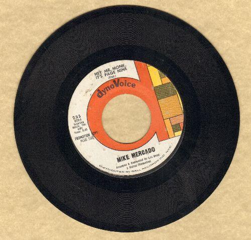 Mercado, Mike - Hey Mr. Konk, It's Page Nine/Popcorn (DJ advance pressing) - EX8/ - 45 rpm Records