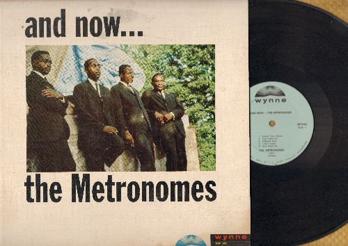 Metronomes - And Now…The Metronomes: Pennies From Heaven, Foggy Day, Age Of Miracles, Count Every Star (Vinyl MONO LP record) - EX8/VG7 - LP Records