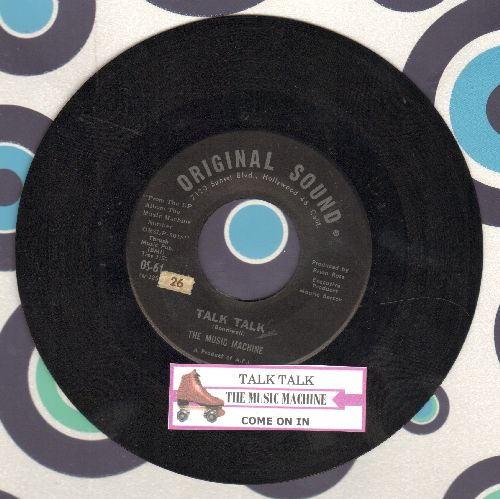 Music Machine - Talk Talk/Come On IN - EX8/ - 45 rpm Records