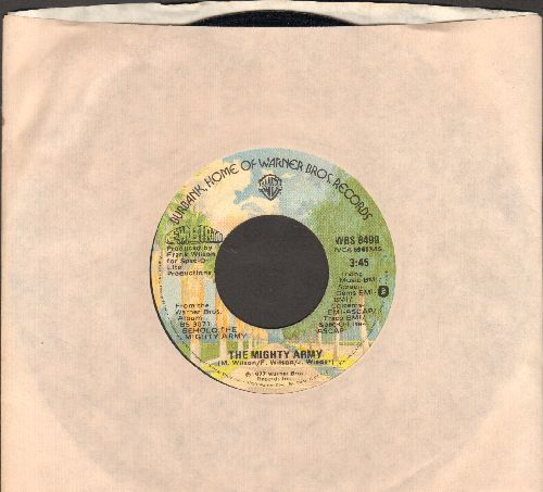 New Birth - The Mighty Army/Hurry Hurry (with Warner Brothers company sleeve) - NM9/ - 45 rpm Records