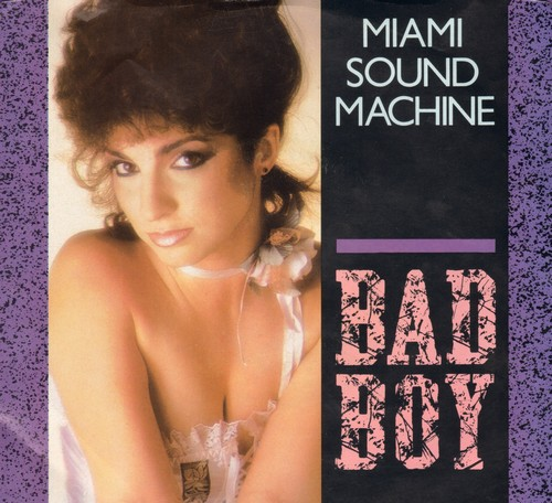 Miami Sound Machine - Bad Boy/Surrender Paradise (with picture sleev) - NM9/VG7 - 45 rpm Records