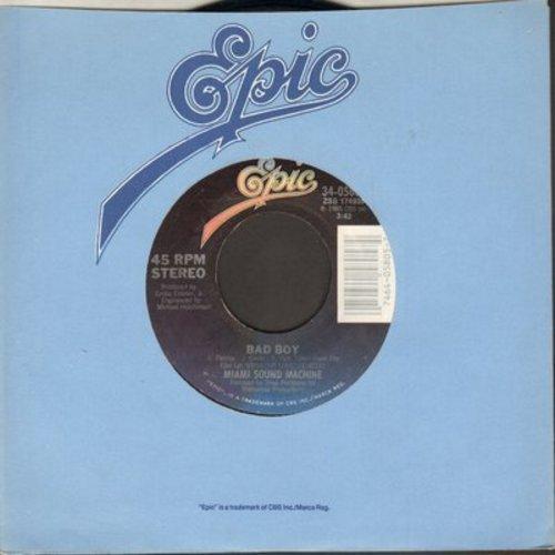 Miami Sound Machine - Bad Boy/Surrender Paradise - VG7/ - 45 rpm Records