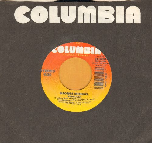 Michael, George - Freedom/Fantasy (with Columbia company sleeve) - EX8/ - 45 rpm Records