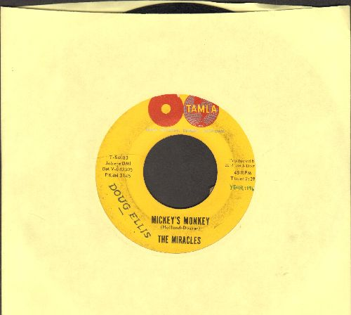 Miracles - Mickey's Monkey/Whatever Makes You Happy (double globe on label, early release)(sol,wol) - VG7/ - 45 rpm Records