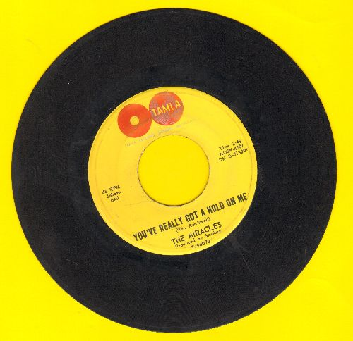 Miracles - You've Really Got A Hold On Me/Happy Landing  - VG7/ - 45 rpm Records