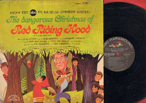 Minnelli, Liza, Cyril Richard, Animals - The Dangerous Christmas Of Little Red Riding Hood - From the TV Musical Comedy Special (vinyl STEREO LP record) - VG7/EX8 - LP Records