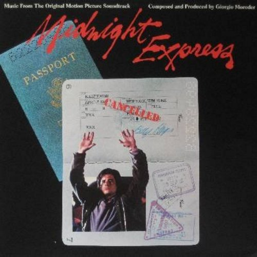 Moroder, Giorgio - Midnight Express - Music From The Original Motion Picture Soundtrack (Academy Award WINNER Best Score) (Vinyl STEREO LP record) - NM9/EX8 - LP Records