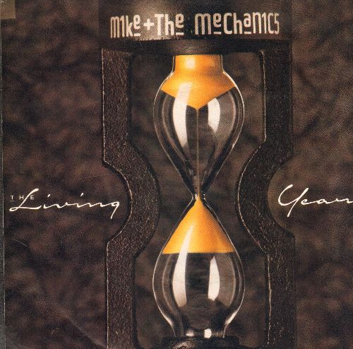 Mike & The Mechanics - The Living Years (tear jerker)/Too Many Friends (with picture sleeve) - NM9/NM9 - 45 rpm Records