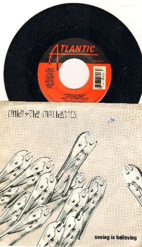 Mike & The Mechanics - Seeing Is Believing/Don't (with picture sleeve) - NM9/EX8 - 45 rpm Records