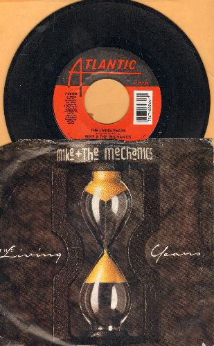 Mike & The Mechanics - The Living Years (tear jerker)/Too Many Friends (with picture sleeve) - EX8/EX8 - 45 rpm Records