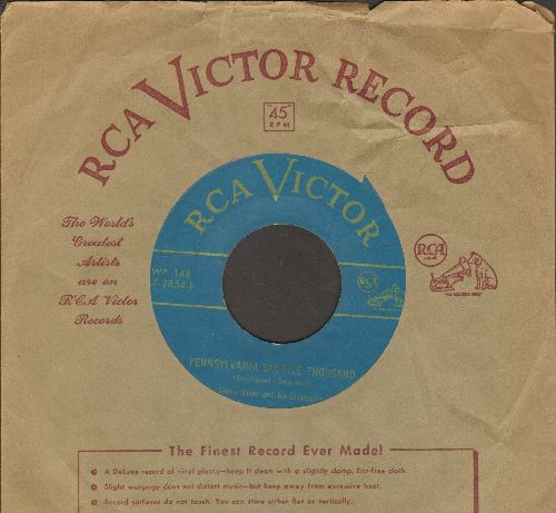 Miller, Glenn & His Orchestra - Star Dust/Pennsylvania Six-Five Thousand (turquoise label 1950s pressing with vintage RCA company sleeve) - EX8/ - 45 rpm Records