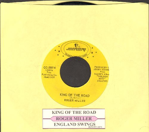 Miller, Roger - King Of The Road/England Swings (double-hit re-isue with juke box label) - NM9/ - 45 rpm Records